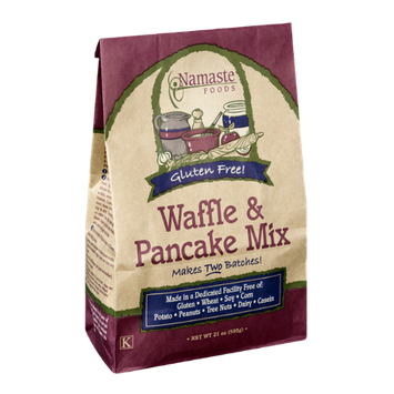 Namaste Foods Gluten Free Waffle & Pancake Mix