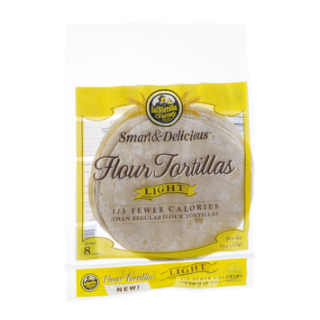La Tortilla Factory Light Flour Tortillas - 8 CT