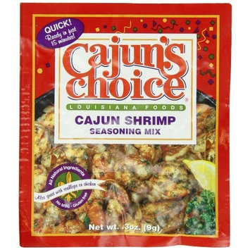 Cajun Choice Cajun's Choice Shrimp Seasoning Mix, .3-Ounce Packages (Pack of 12)