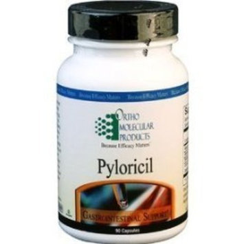 Ortho Molecular Products, Pyloricil, 60 Capsules Health and Beauty
