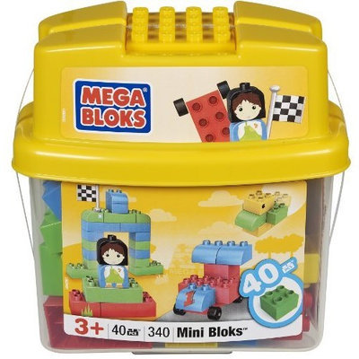 Mega Bloks Minibloks Tub (40) Classic