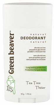 Green Beaver Natural Deodorant Tea Tree - 1.76 oz