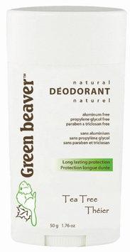 Green Beaver Natural Deodorant Tea Tree - 1.76 oz
