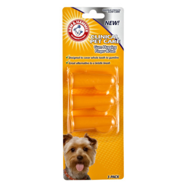 ARM & HAMMER™ Clinical Pet Care Finger Dog Toothbrush