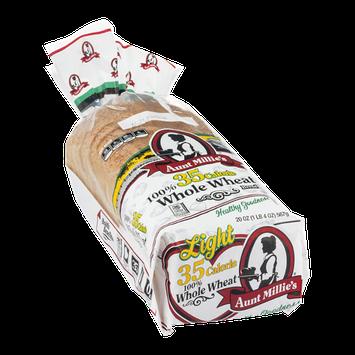 Aunt Millie's 35 Calorie 100% Whole Wheat Bread