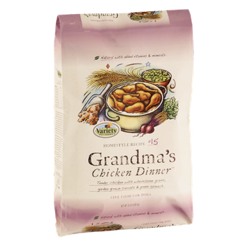 Variety Pet Foods Grandma's Chicken Dinner Homestyle Recipe #15 Dog Food
