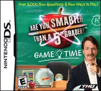 THQ Are Smarter Than A 5th Grader!: Game Time