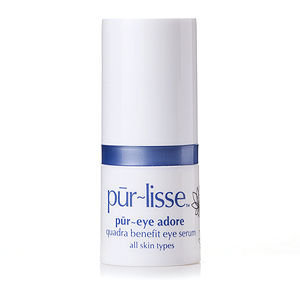 pur-lisse pur~eye adore quadra benefit eye serum