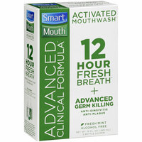 SmartMouth Advanced Clinical Formula Fresh Mint Activated Mouthwash