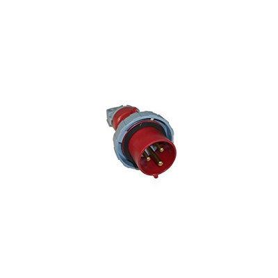 Thomas & Betts ABB Russelstoll ABB330P7W IEC Plug 30A 2 Pole 3 Wire 480V Pin & Sleeve