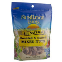 Sunridge Farms Fance Roasted Salted Mixed Nuts, 7.5-Ounce Bags (Pack of 6)