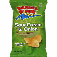 BARREL O'FUN SNACK FOOD CO Barrel O' Fun Sour Cream & Onion Chips