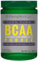 Piping Rock BCAA Powder Branched Chain Amino Acids 9 oz.