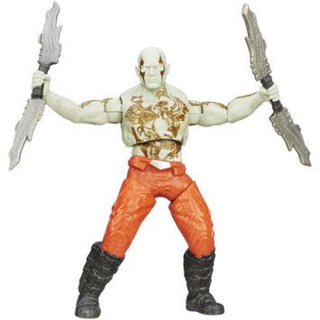 GUARDIANS OF THE GAL Marvel Guardians Of The Galaxy Galactic Battlers Drax Action Figure