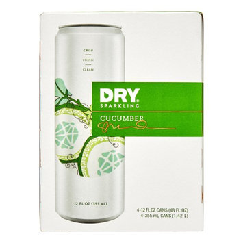 Dry Soda SODA, CUCUMBER, CAN, (Pack of 6)