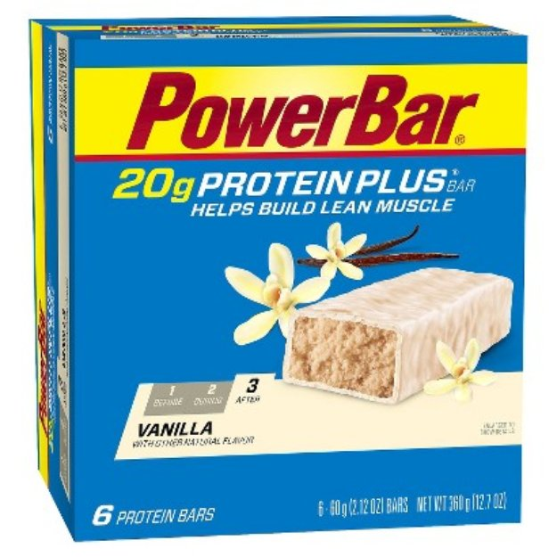 PowerBar Protein Plus 20g Vanilla Bar - 36 Count