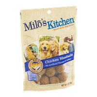 Milo's Kitchen Home-Style Dog Treats 100% Real Chicken Meatballs