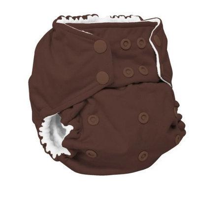 Rumparooz One Size Cloth Pocket Diaper Snap, Root Beer