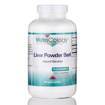Nutricology/allergy Research Liver Powder Nutricology (Allergy Research) 200g Powder