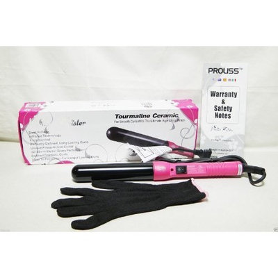 Proliss Twister Tourmaline Ceramic For Smooth Curls 32mm curling iron PINK