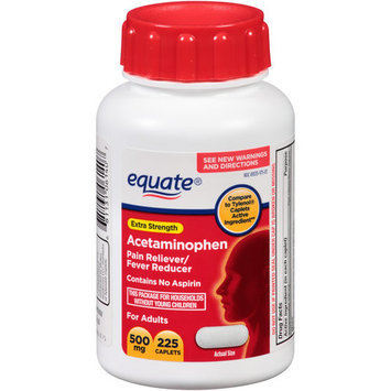 Equate Acetaminophen Pain Reliever/Fever Reduction