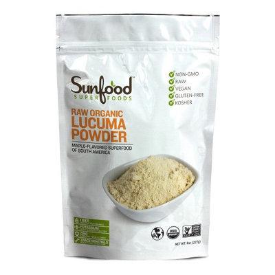 Lucuma Organic Powder Organic Sunfood 8 oz Powder