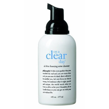 Philosophy On a Clear Day Foaming Acne Cleanser, 6 Ounce