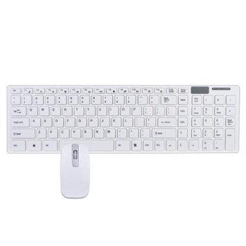 Generic 2.4GHz 101-Key Ultra-Thin Wireless USB Multimedia Keyboard & Laser Mouse Kit