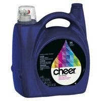 Cheer Fresh Clean Liquid Laundry Detergent 150 oz