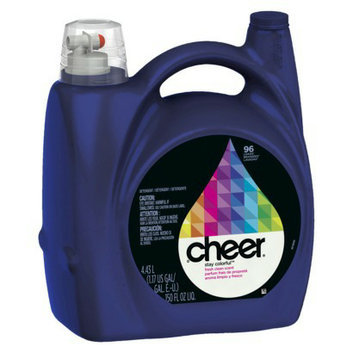 Cheer Fresh Clean Liquid Laundry Detergent 150 oz