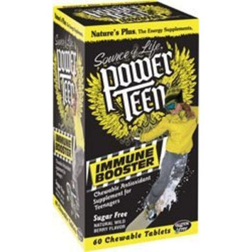 Nature's Plus Power Teen Immune Booster - 60 - Chewable