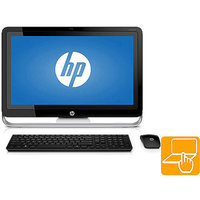 Hewlett Packard HP Pavilion TouchSmart 23-h013w All-in-One Desktop PC with Intel Core i3-4130T Processor, 8GB Memory, 23