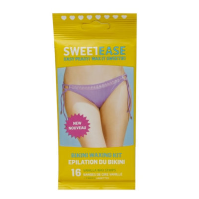 SweetEase Bikini Waxing Kit Vanilla