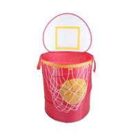 Redmon 6085RD Bongo Buddy Basketball pop up hamper Red