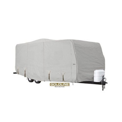 Eevelle GLRVTT3638G Goldline Cover Travel Trailer - Grey