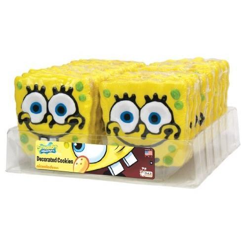 The Wild Baker Wild Baker SpongeBob Decorated Cookies Tray (24 Cookies)