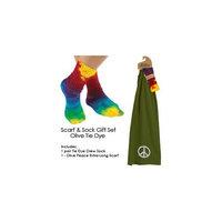 Maggie's Organic Organic Cotton Scarf n Sock Gift Set