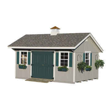 Homeplace HomePlace by Suncast Bungalow Garden Building (12 ft. x 16 ft.)