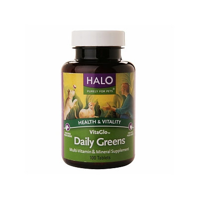 Halo, Purely For Pets Vita Glo Daily Greens
