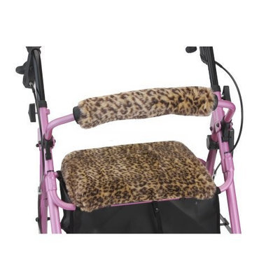 NOVA Medical Products Seat and Back Cover, Safari Cheetah
