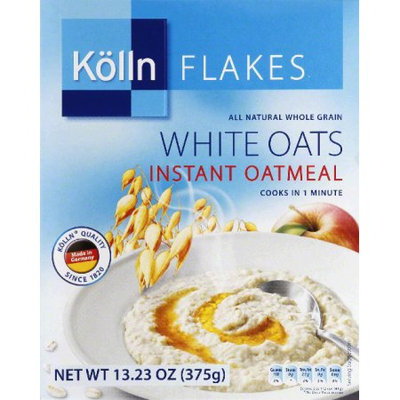 Kolln Oatmeal Instant White Oats 13.23 Oz Pack Of 8