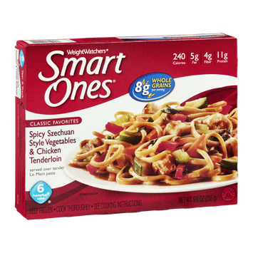 Smart Ones Classic Favorites Spicy Szechuan Style Vegetables & Chicken Tenderloin