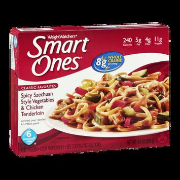 Weight Watchers Smart Ones Classic Favorites Spicy Szechuan Style Vegetables & Chicken Tenderloin