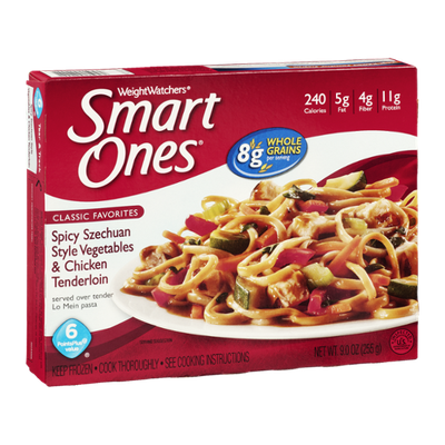 Weight Watchers Smart Ones Classic Favorites Spicy Szechuan Style Vegetables & Chicken Tenderloin