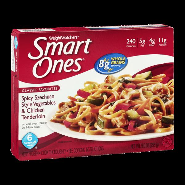 Smart Ones Classic Favorites Spicy Szechuan Style Vegetables & Chicken Tenderloin