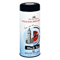 The Tea Nation English Breakfast Black Tea Round Bags - 50 CT