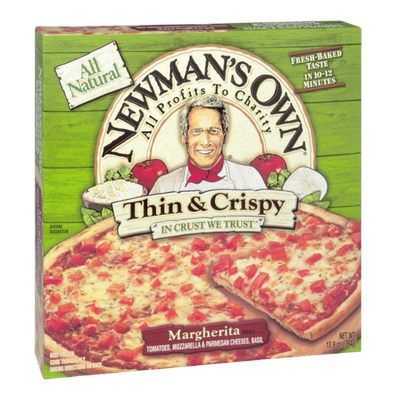 Newman's Own All Natural Thin & Crispy Margherita Pizza
