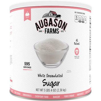 Augason Farms White Granulated Sugar, 80 oz