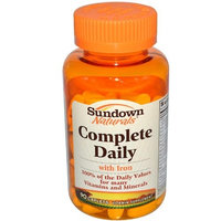 Sundown Naturals Complete Daily Caplets, by Sundown - 90 Caplets [Health and Beauty]