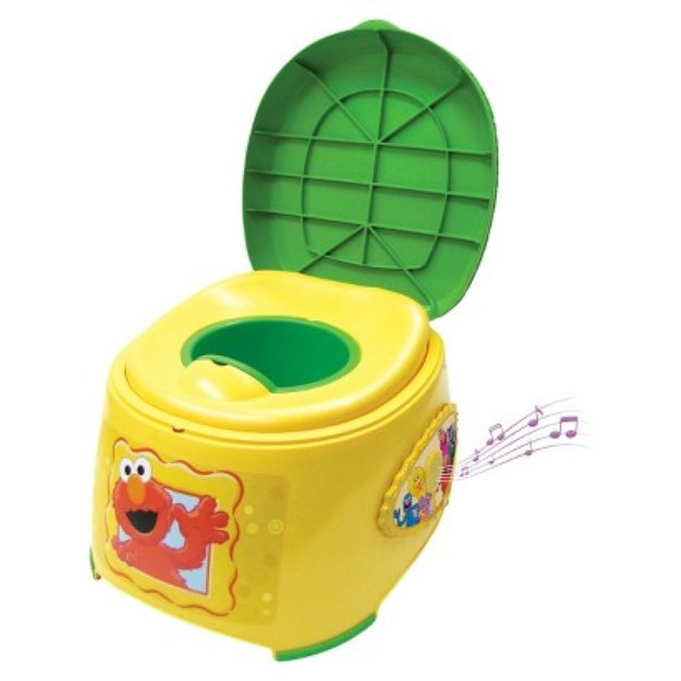 Ginsey 3-in-1 Potty with Sound - Sesame